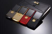 Wholesale original torch resale online - Unlocked Fashion luxury mobile phone Original TKEXUN for woman man Dual sim card Dual Torch cell phone cellphone