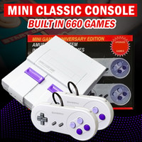 TV Video Game Consoles SNES 8bits Game Consoles With 660 Game Consoles for SNES SFC Games Dual Gamepad Player Pal and NTSC