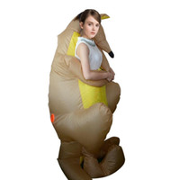 aufblasbare männer frauen großhandel-2018 Halloween Männer Frauen Funny Kidnapped by Aliens Cosply Kostüme Männlich Weiblich Party Maskottchen Kostüme Aufblasbare Kleidung Großhandel