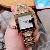 büyük kadran kare saatler toptan satış-Moda Marka Casual büyük Kare arama Big Bang elmas saatler Saatı Kuvars Bilek İzle kuvars saat kadınlar İzle gc