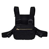 Wholesale shoulder pouch for men resale online - Hip Hop Style Tactical Chest Bag Backpack Men Adjustable Multi Functional Pouch Shoulder Bag Backpacks Fanny Pack For Fishing Hiking M104Y