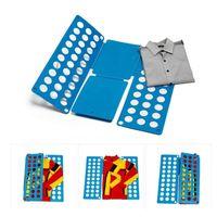Wholesale magic fold board resale online - Creative Clothes Quick Folding Board Portable Adjustable Quality Adult Magic Cloth Folder Closet Organizer Shirts Storage