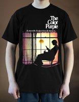 cor impressão venda por atacado-THE COLOR PURPLE Cartaz do filme ver. 1 Camiseta Danny Glover (Preto) S-5XL