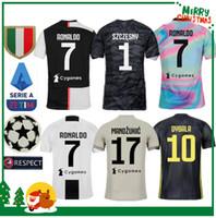 4ec4ecda8d2 2019 Juventus Ronaldo DYBALA PJANIC COSTA soccer jersey 19 20 Italy  MANDZUKIC BUFFON home man woman kids boy kit JUVE sports football shirt