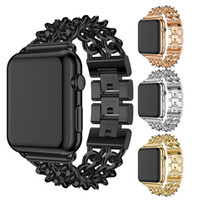 Strap, Jean chain, rigid band, alloy stainless steel strap and wristband for Apple watch iwatch watch watch Watch