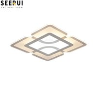 Wholesale nickel paint for sale - Group buy Led ultra thin living room lights modern simple fashion bedroom study dining room light