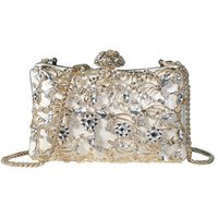 82e32cd655 Wholesale crystal purses online - Pink sugao crystal Luxury evening bag  Bling party purse top diamond