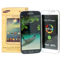 samsung galaxy mega 5.8 оптовых-Восстановленный оригинальный Samsung Galaxy Mega 5.8 I9152 3G сотовый телефон 5.8 Inch Dual Core Android4.2 1G RAM 8G ROM