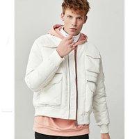 Wholesale snow white clothing resale online - White Duck Down Jacket Men Fashion Coat Male Snow Parkas Male Warm Brand Clothing Winter Men s Down Jacket Outerwear LW853 T190913
