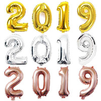 Wholesale painting balloons for sale - Group buy 40inch painting by numbers foil balloons happy new year s eve parties digital helium balloon wedding decor MMA1245
