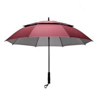 ingrosso ombrelli automatici-Nuovo arrivo 158 centimetri Grande ombrello di alta qualità / / fashionUltra grande / ombrello a manico lungo / maschio doppio strato commerciale automatico