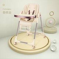 Wholesale plastic high chairs for sale - Group buy Baby High Chair For Feeding Baby Chair With Four Wheels Breast Feeding Chair With Table High Chairs For Baby