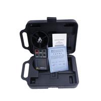 anemómetro de mano al por mayor-Medidor de la velocidad del viento del medidor de velocidad del viento AZ-8906 del anemómetro AZ8906 de mano Medidor de volumen de aire