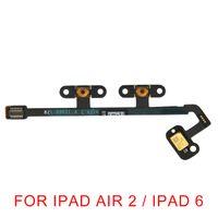 ipad ses düğmesi toptan satış-Yeni iPad Hava 2 için / iPad 6 Hava 2/6 için Orijinal Ses Kontrol Düğmesi Flex Kablo