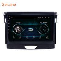 mobile digital tv für android großhandel-Android 8.1 9 Zoll Auto GPS Navigationsradio für 2015 Ford Ranger mit USB WIFI Bluetooth Musik AUX Unterstützung Digital TV Lenkradsteuerung