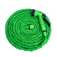 Wholesale expandable hose for garden for sale - Group buy 25ft FT FT FT Magic Flexible Hose For Garden Car Expandable Garden Hose irrigation in Spray Gun Quick Connector