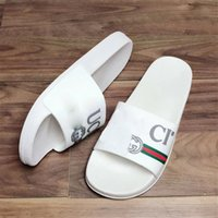 Wholesale beach slippers for men for sale - Group buy Fashion Slippers with Print Logo INS Style Women s Slippers for Summer Beach Brand Outdoor Slippers for Men