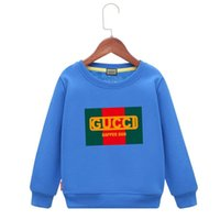 Wholesale baby clothes factory for sale - Factory Autumn And Winter Solar System Printing Thickening Pure Cotton Wool Circle Children Even Caps baby clothing boys hoodie