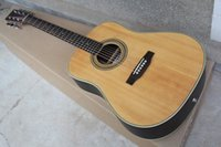 Wholesale fret acoustic guitar online - Custom factory guitar quot Acoustics with all solid materials post and back jacquard Frets inlaid dots can add pickups offer personalized