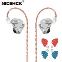 profesyonel sürücüler toptan satış-NICEHCK NX7 Pro 7 Sürücü HIFI Kulaklık 4BA + Çift CNT Dinamik + Piezoelektrik Seramikler Hibrid Değiştirilebilir Filtre Facepanel IEM DJ