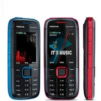 Wholesale bluetooth cell phone keyboards for sale - Group buy Original Nokia XpressMusic XM Bluetooth FM English Arabic Russian Keyboard G Network Refurbished Cell Phone