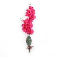 ingrosso fiori di orchidea di seta bianca-Simulazione fiori di seta soggiorno artificiale fiore finto orchidea decorazione di nozze forniture rosso bianco squisito vendite calde 8zj c1