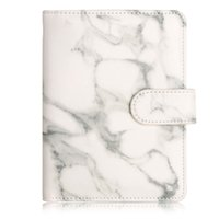Wholesale travel accessories passport resale online - Marble Texture RFID Blocking Passport Holder Synthetic Leather Anti Scan Travel Multi Function Unisex Vintage Accessories Buckle