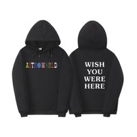 s hoodies sweatshirts venda por atacado-Mens Mundial Designer Hoodies Wish You Were Here impressos Sports Mens moletom com capuz Casual Masculino Vestuário
