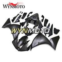 ingrosso matrici nere di colore nero-Carene moto nero opaco per Yamaha YZF 1000 R1 2012 2013 2014 coperture in plastica ABS per iniezione r1 07 08