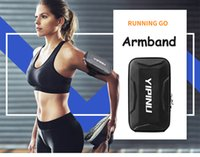 Wholesale sport arm phone cases for sale – best Best Sport Armband Case Zippered Fitness Running Arm Band Bag Pouch Jogging Workout Cover For Smart Phone Bag running belt wrist