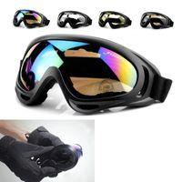 radfahren skibik fahrrad großhandel-Reflektierende explosionssichere Brille Outdoor X400 Radfahren Brillen Fahrrad Sportbrillen Wandern SKI Männer Motorrad Sonnenbrille QP010