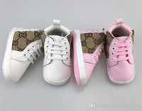 erkek kaymak spor ayakkabıları toptan satış-Yeni Çocuk Spor Bebekler Günlük Ayakkabılar Çocuklar Sneakers / yumuşak alt bebek Erkekler Kızlar ayakkabı Bebek İlk Yürüyenler Kaymaz B11
