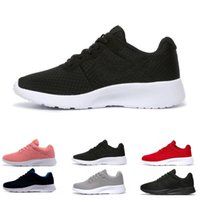 Wholesale fishing shoes size 11 for sale - Group buy Hot sale tanjun men women running shoes London Triple black white blue red Olympic mens trainers sports shoes sneakers size US