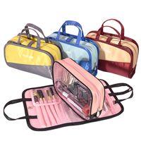 Wholesale fresh cartoons resale online - Portable Travel Organizer Makeup Bag Large Capacity Waterproof Cosmetic Bags Light Weight Wash Bags Underwear Bag