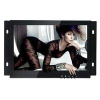monitor lcd hdmi venda por atacado-Monitor industrial do monitor aberto de 7 quadros de HDMI da polegada / metal com o monitor de VGA / AV / BNC / lcd