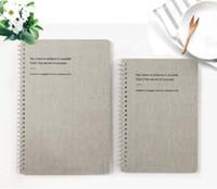cadeau d'agenda achat en gros de-Nouveau Simple A5 / B5 Couverture de carton blanc Cahier pour agenda quotidien Memo Fournitures de bureau de l'école de luxe Cadeaux créatifs Journal Papeterie