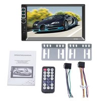 Wholesale portable multimedia player for sale - Group buy New Din Car Radio Multimedia Mp5 Player Din Inch Press Screen Bluetooth Fm Audio Car Stereo Player
