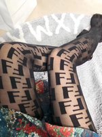 Wholesale sexy black hose resale online - 2019 Pure Color Lace Hollow Out Pantynose Sexy Mesh Hose Hot Sale European and American Letter Long Leggings S L