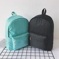 macbook rucksack laptop 15 zoll großhandel-Arbeiten Sie berühmte rosafarbene Buchstabemarken-Rucksackhandtaschen für Mädchenschultaschefrauenluxusentwerfer-Schulterbeutelgeldbeutel um Neue Qualität