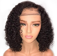 Wholesale best lace wigs sold for sale - Group buy Best selling Europe Africa Curly Hair Wig Resistant Synthetic Lace Front Hair Wig For Black Women High grade Rose Inner Net Wigs