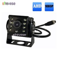 Wholesale camera waterproof 15m for sale - Group buy AHD P Vehicle Backup Rear View Reverse Parking Car Camera LED Waterproof Rear Camera Pin M m M Cable for Bus Truck