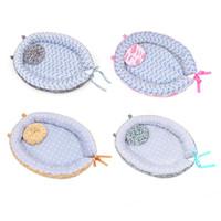 neugeborenen großhandel-Baby Nest Waschbar Krippe Reisebett Cartoon Mond Druckbett Abnehmbar Waschbar Tragbare Baumwolle Wiege Kinderbett Für Neugeborene