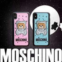 Wholesale iphone bear cases online – custom Fashion Trend Bear Theme phone cover case for iPhone s plus XR X back cover for Apple iphone x xr plus case for iphone xs max