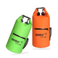 Can be  F4 BLUE FIELD Outdoor Waterproof Dry Bag for Canoe Kayak Rafting Camping