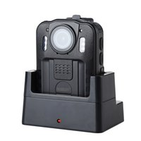 Wholesale camera police resale online - WN9 Wearable Body Camera HD P Police Camara MP Degree Kamare Inch Screen Security Cameras Mini Comcorder no SD card
