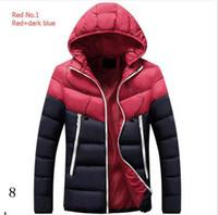 lüks ceketler erkekler toptan satış-Spor Marka Palto İçin Erkek Tasarımcı ceketler Lüks Erkekler Aşağı Ceket Palto Casual Hip Hop Sıcak Trendy Ceket Man Downs WINDBREAKER