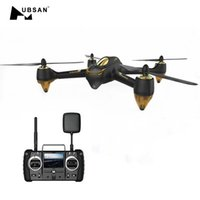 Wholesale 5.8g fpv camera drones resale online - Original Hubsan H501S H501SS X4 Pro G FPV Brushless W P HD Camera GPS RTF Follow Me Mode Quadcopter Helicopter RC Drone MX191220