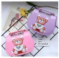 Wholesale kids shoulder bags girls resale online - Kids Bags Newest Cartoon Pattern Handbags Baby Girls Crossbody Mini Bag Designer Children Shoulder Bags Girls