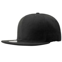 sombrero de hiphop coreano al por mayor-Sombrero de verano hiphop light board gorras de béisbol hombres y mujeres hip hop hip-hop hat exo versión coreana del sombrero para el sol sombreros planos negros
