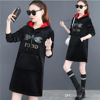 e9a92b780b2 NZ  48.46. Plus Size Women Fashion Vintage Long Sweater Dress With Hooded  Turtleneck Pullovers sweater High Quality Female Warm Dress